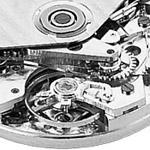 Mechanický strojek hodinek Zena Watch Basel